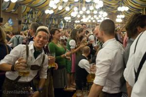 Bräurosl tent at Oktoberfest