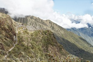Approaching Sayacmarca on the Inca Trail