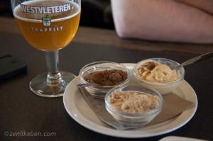 The food at In de Vrede at Westvleteren