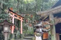 One of the many sub shrines at Fushimi Inari-taisha
