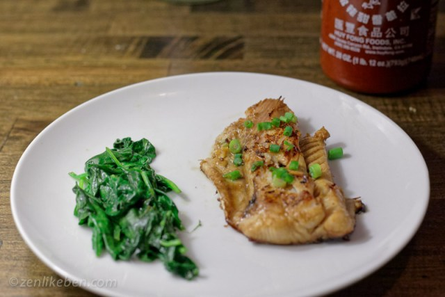 Spanish Mackerel Marinated with a Sriracha Lime Sauce