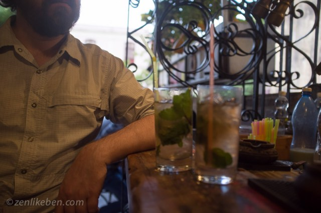 Searching for the best mojitos in Havana cuba