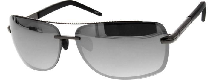 Silver mirror finish sunglasses   Zenni Optical
