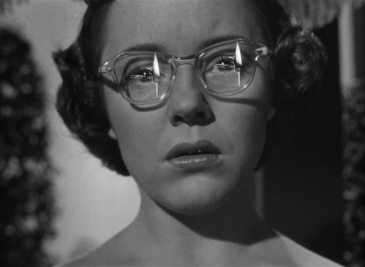 Strangers on a Train still - Glasses with glare   Zenni Optical