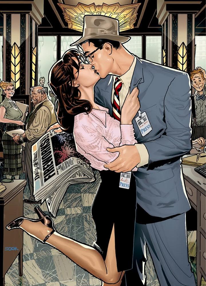 A couple kissing   Zenni Optical
