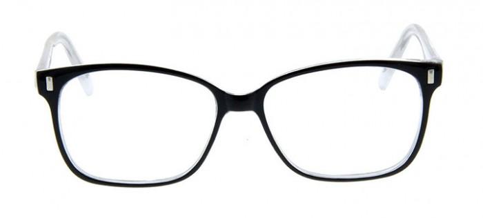 black super girl glasses