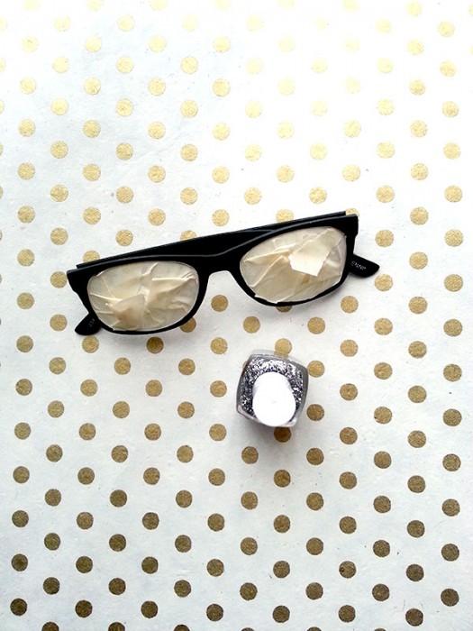 Sparkle Specs DIY Step 2