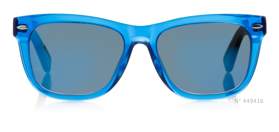 Blue Acetate Wayfarers