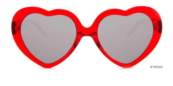 red heart coachella glasses