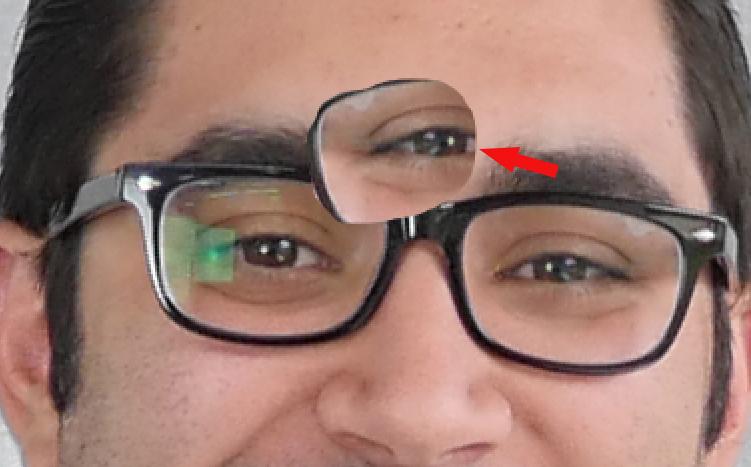 drag eye copy in photoshop
