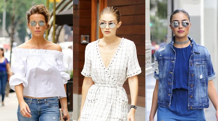NYFW fashion glasses