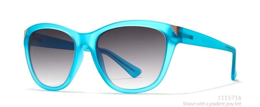 turquoise cat eye sunglasses
