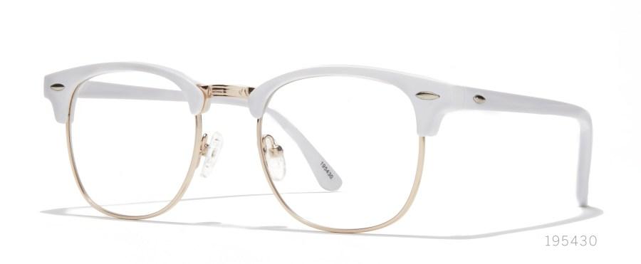 white browline frames