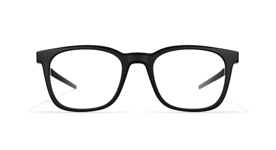 black wedding day glasses