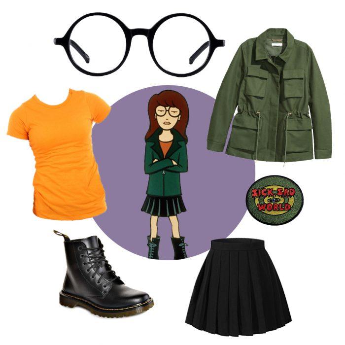Daria costume ideas for halloween