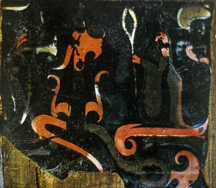 Una sacerdotessa Wu invoca lo spirito di un animale.