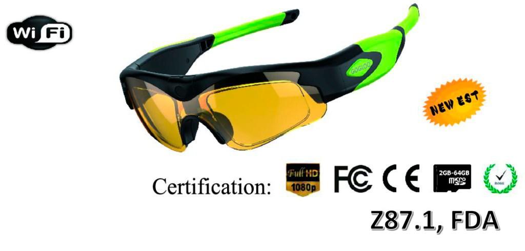 EN-E7 Patent WIFI Z87.1 Standard GLASSES - Model No.: EN-E7