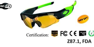 EN-E7 Patent WIFI Z87.1 Standard GLASSES – Model No.: EN-E7