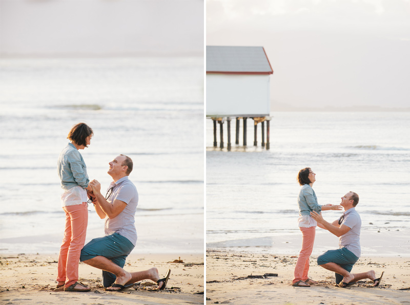 port douglas marriage proposal