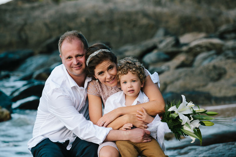 trinity beach wedding photography