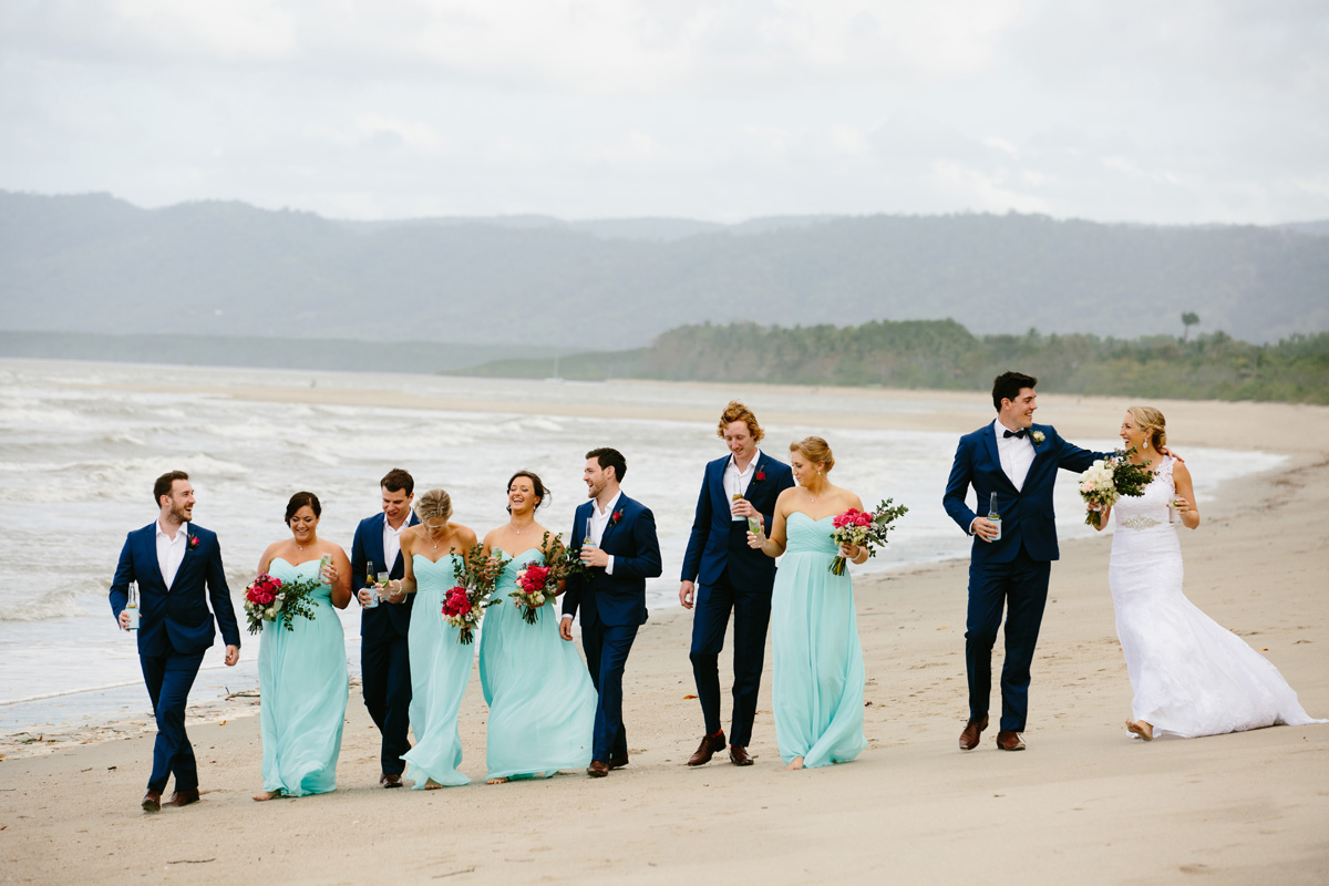 newell beach wedding photography
