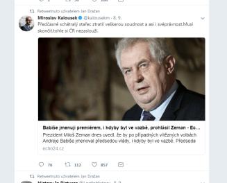 úcta k prezidentovi
