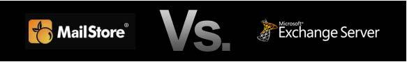 Mailstore versus Exchange banner