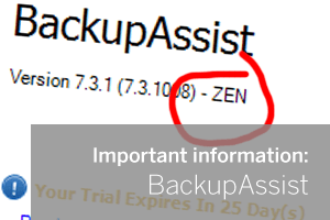 BackupAssist announcement