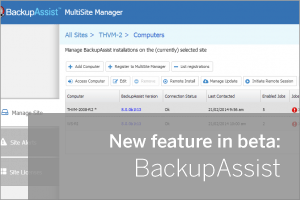 BackupAssist Beta