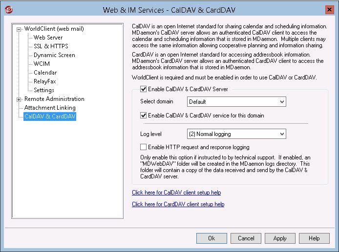 MDaemon CardDAV Feature