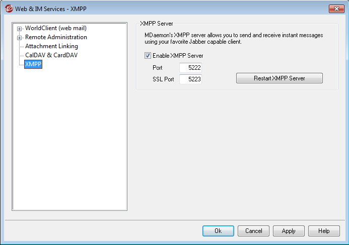 Third Party XMPP Client Support