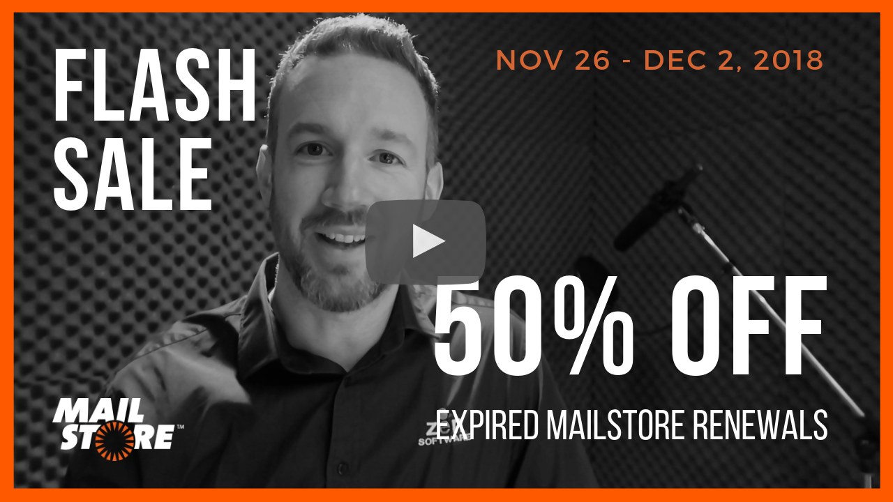 MailStore Expired Renewal Promotion