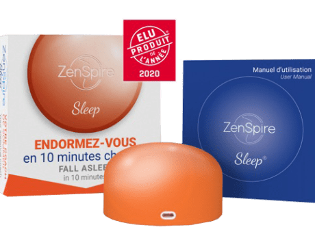 Zenspire sleppe pour retrouver le sommeil en 10 minutes