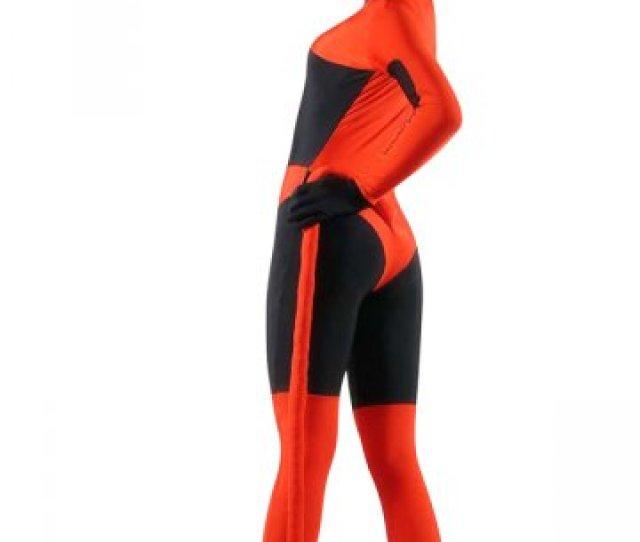 Sexy Open Eyes Spandex Zentai Suit