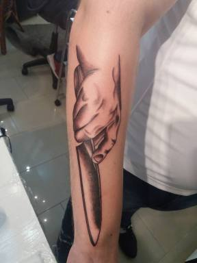 Penge tetoválása Zentattoonál