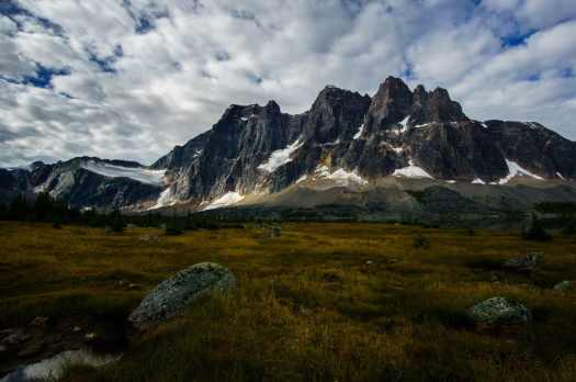Clouds over the Ramparts in Tonquin Valley