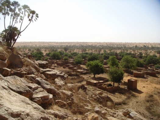 Dogon Country, Mali is currently a scary destination