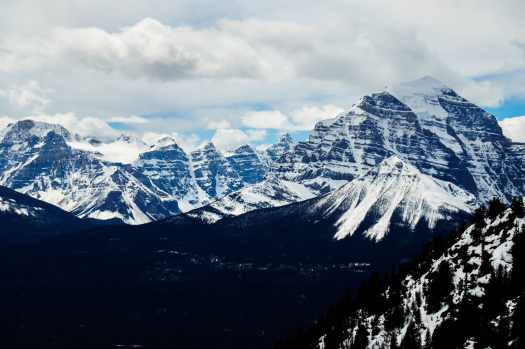 Mount Temple and the Valley of the Ten Peaks