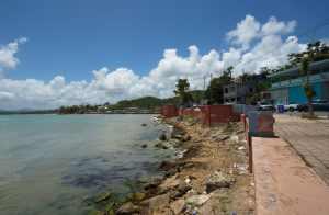 Beach on the way to Fajardo