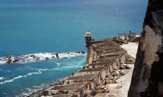 Castillo San Filipe in Old San Juan
