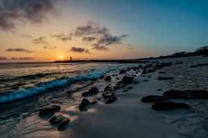 Sunset on San Cristobal Island