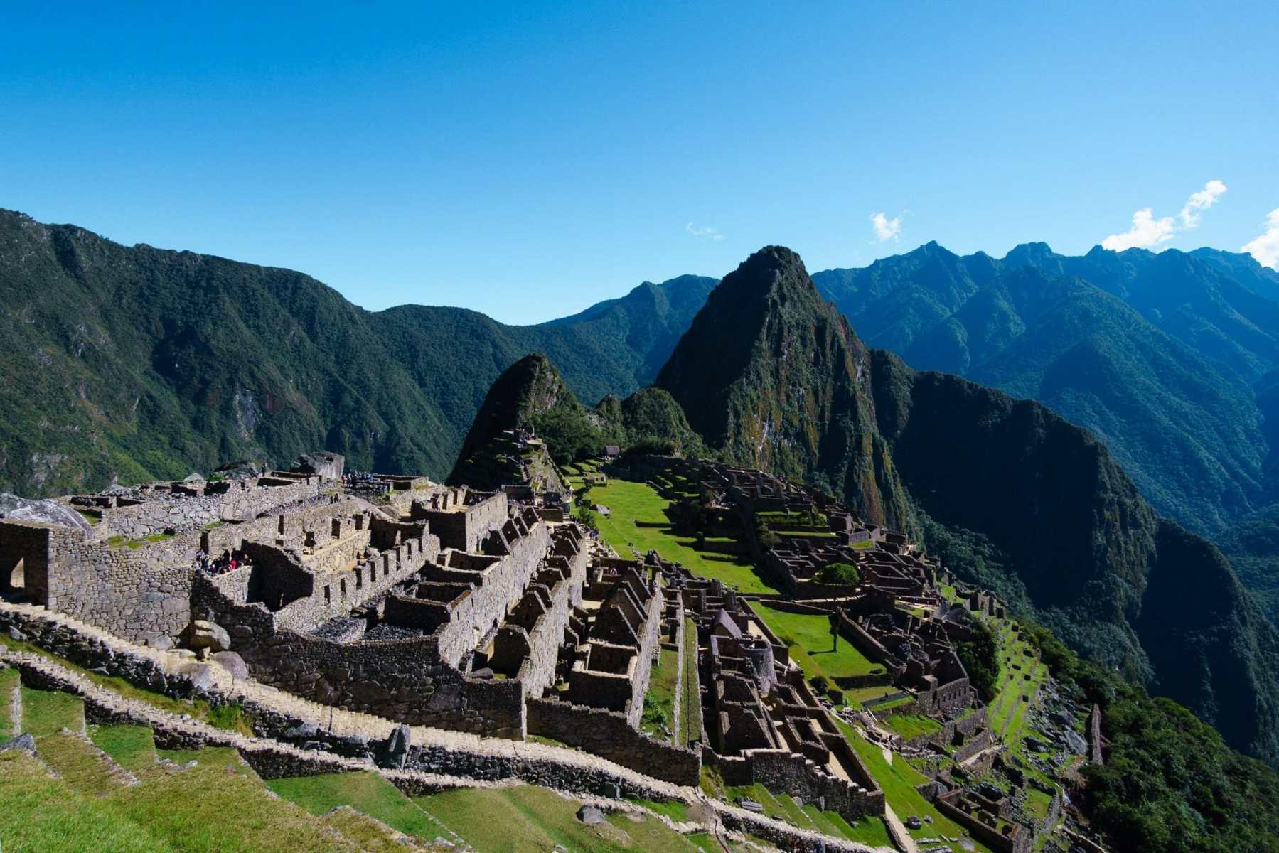Machu Picchu after completing the Salkantay Trek