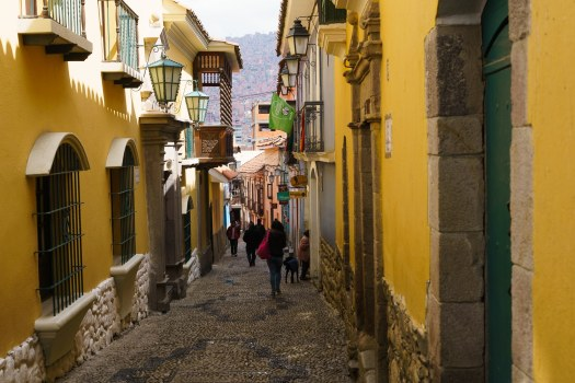 Photo of Calle Jaen in La Paz