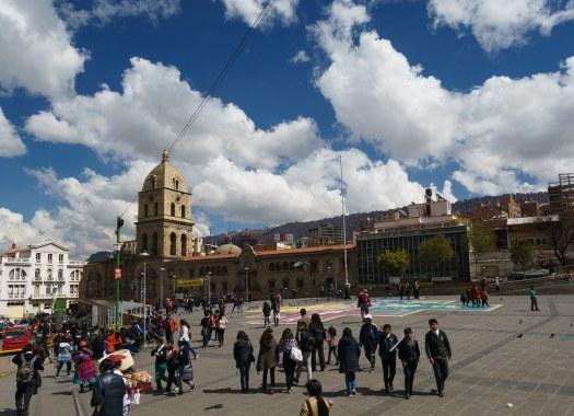 Plaza San Francisco in La Paz