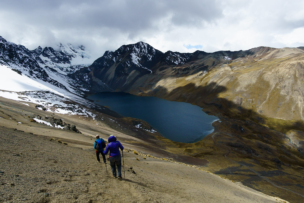 Trekking in the Cordillera Real