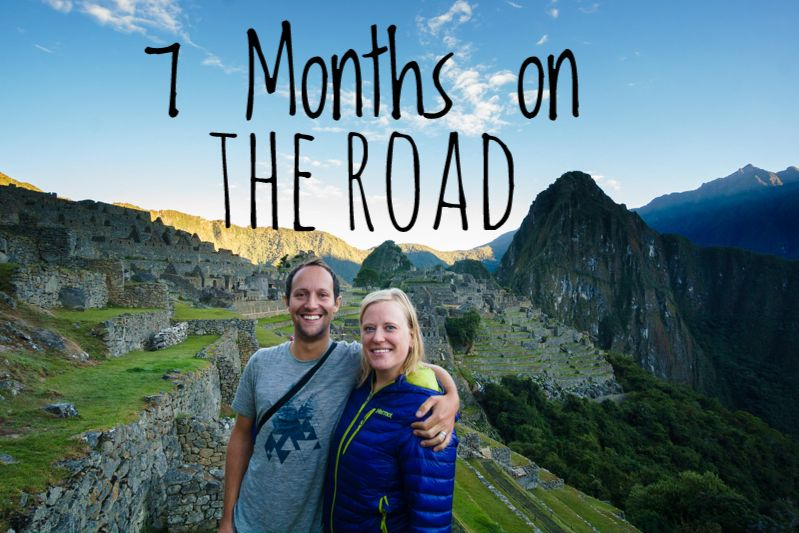 seven months on the road - zentravellers at machu picchu