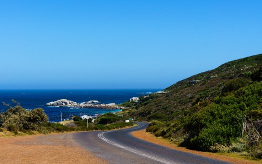 Ocean View while Driving to Cape Point from Cape Town