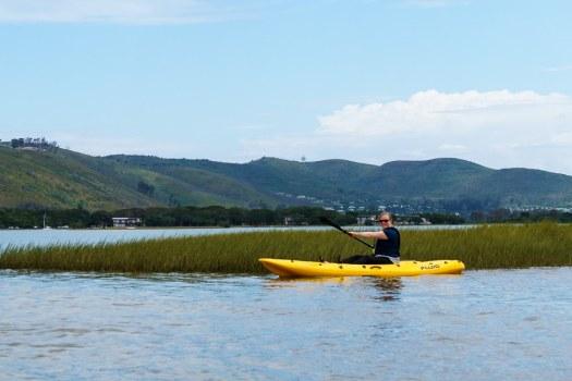 Kayaking at Knysna