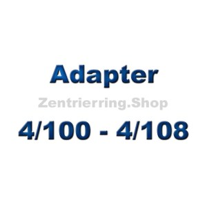 Adapterscheiben 4/100 - 4/108