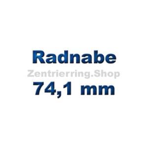 Radnabe 74,1 mm